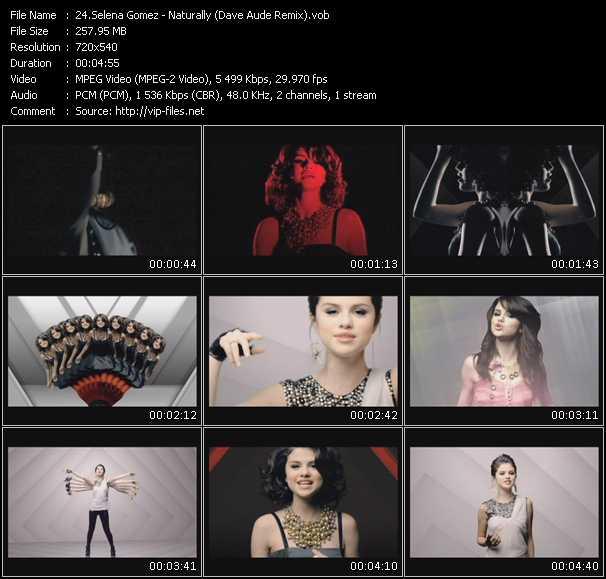Selena Gomez video vob