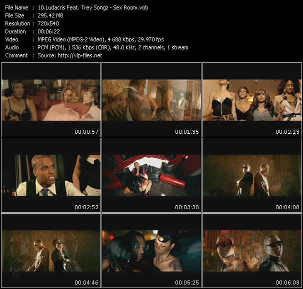 Ludacris Feat. Trey Songz video vob