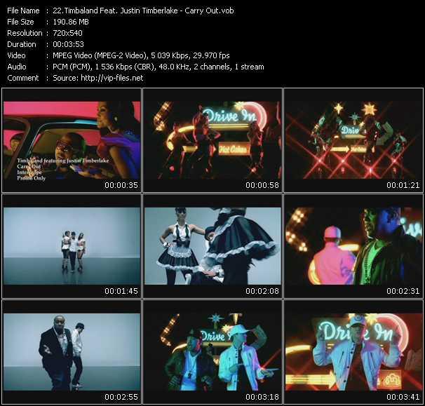 Timbaland Feat. Justin Timberlake video vob