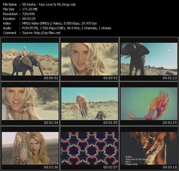 Kesha video vob