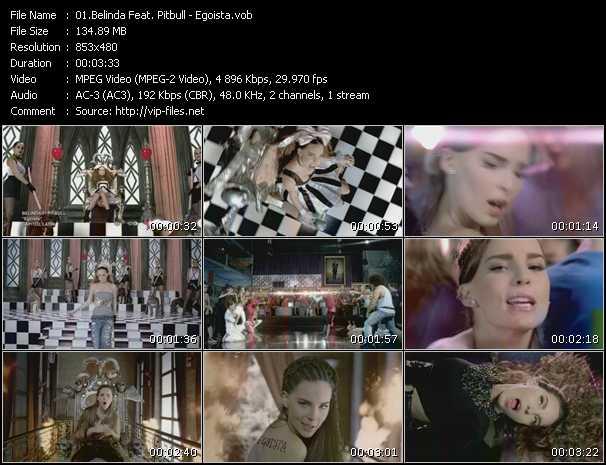 Belinda Feat. Pitbull video vob