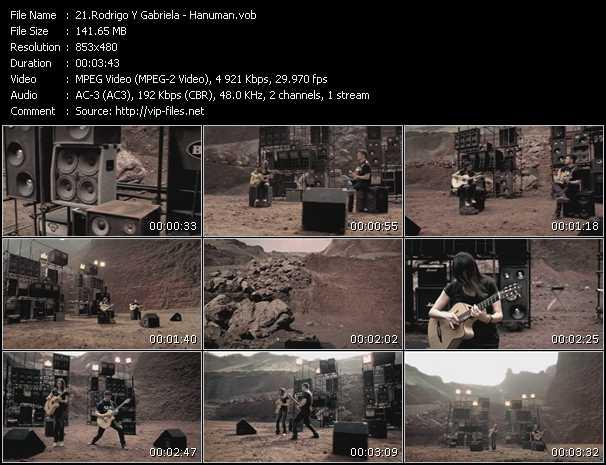 Screenshot of Music Video Rodrigo Y Gabriela - Hanuman