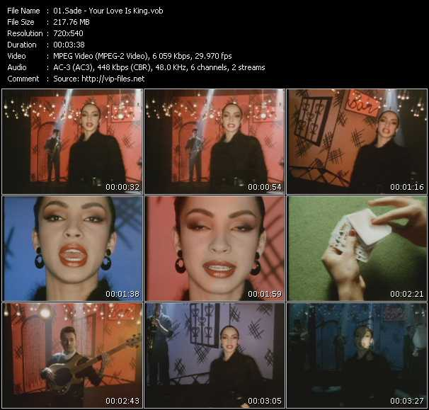 sade your love is king mp3 free download
