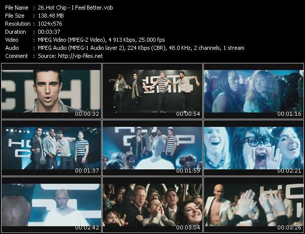Screenshot of Music Video Hot Chip - I Feel Better