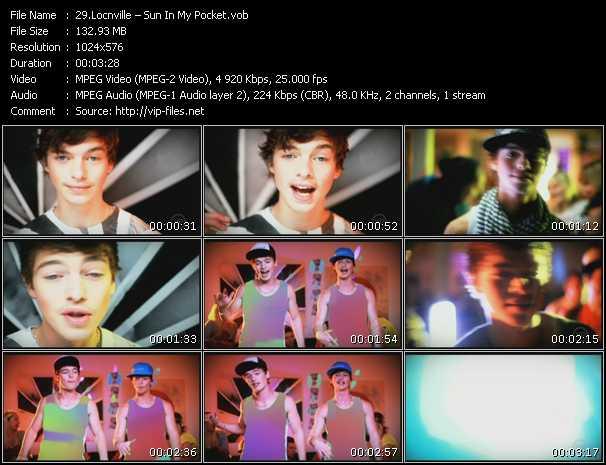 Screenshot of Music Video Locnville - Sun In My Pocket