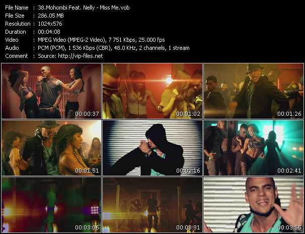 Mohombi Feat. Nelly video vob