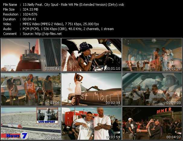 Nelly Feat. City Spud video vob