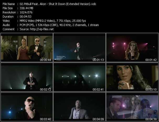 Pitbull Feat. Akon видеоклип vob