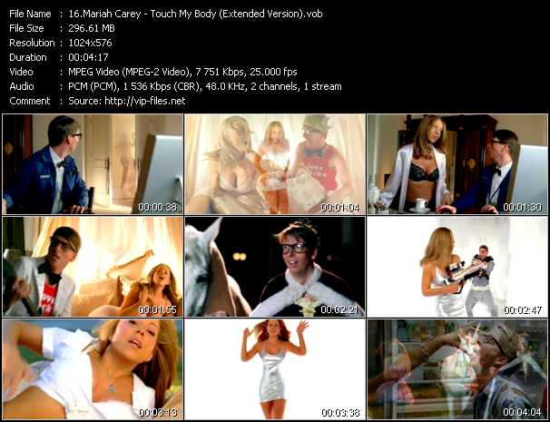 Mariah Carey Video Vob