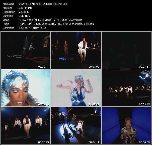 Yvette Michele video vob