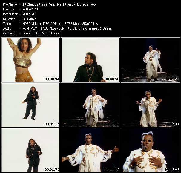 Shabba Ranks Feat. Maxi Priest video vob