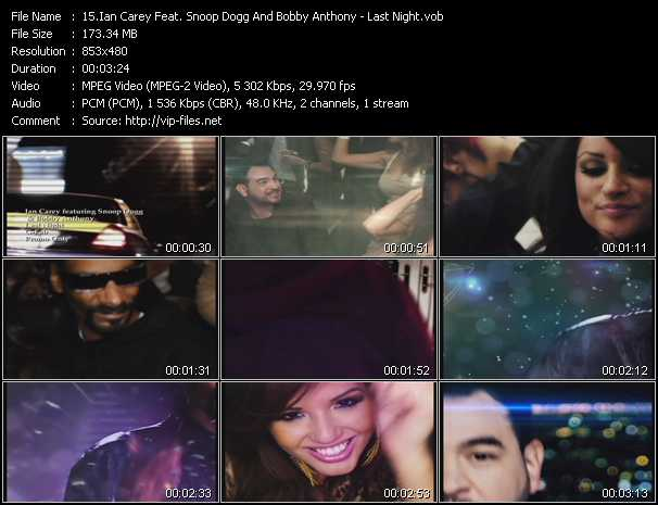 Ian Carey Feat. Snoop Dogg And Bobby Anthony video vob