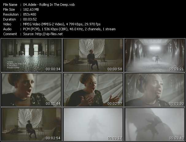 Adele video vob