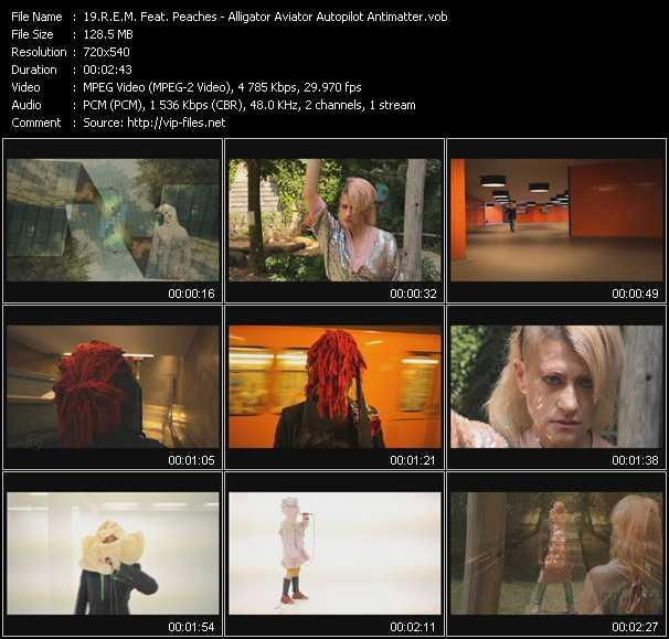 R.E.M. Feat. Peaches video vob