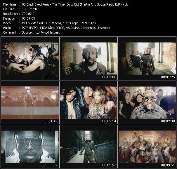 The Time Dirty Bit The Black Eyed Peas: The Time (Dirty Bit) (Martin And Souza