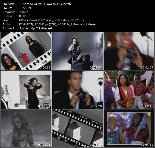 Shanice (Shanice Wilson) video vob