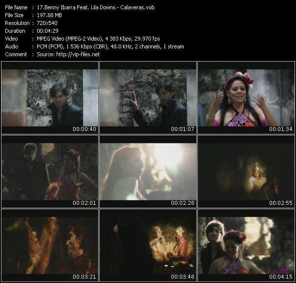 Screenshot of Music Video Benny Ibarra Feat. Lila Downs - Calaveras