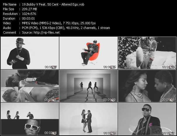 Bobby Valentino (Bobby V) Feat. 50 Cent clips musicaux vob