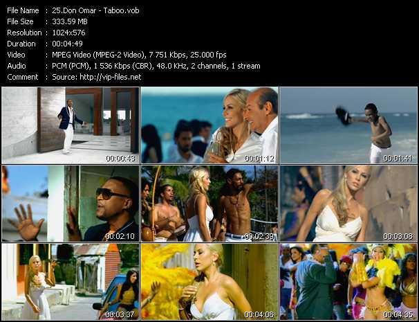 videos musicales don omar conteo: