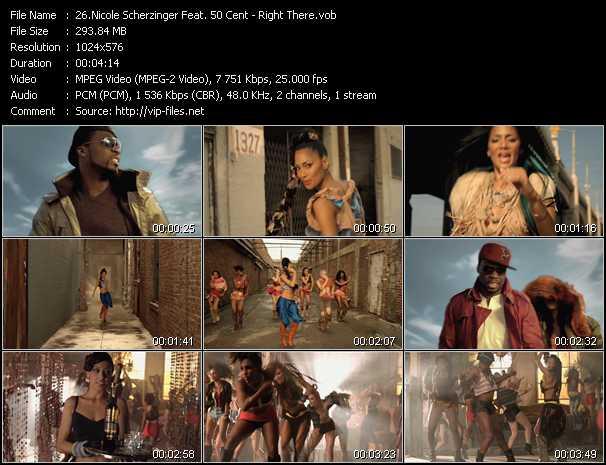 Nicole Scherzinger Feat. 50 Cent clips musicaux vob