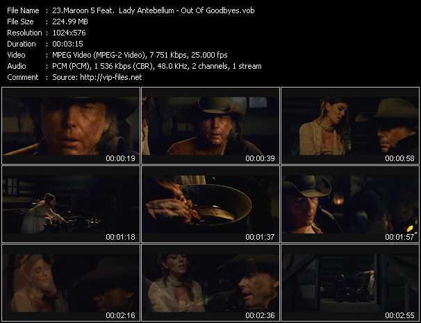 Maroon 5 Feat. Lady Antebellum video vob