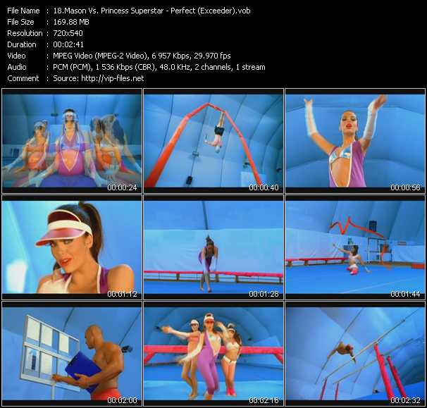 Mason Vs. Princess Superstar video vob