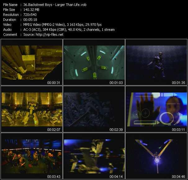 Backstreet Boys video vob