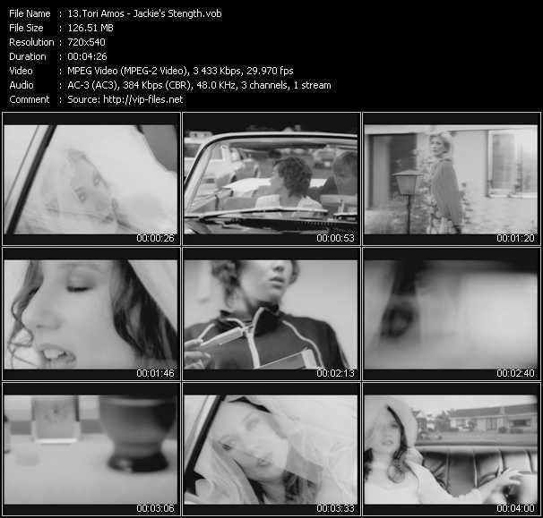 Tori Amos video vob