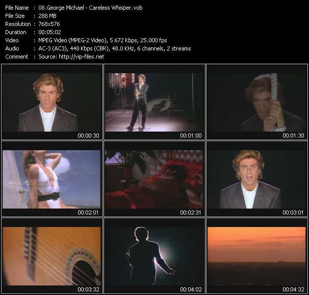George michael careless whisper music video download