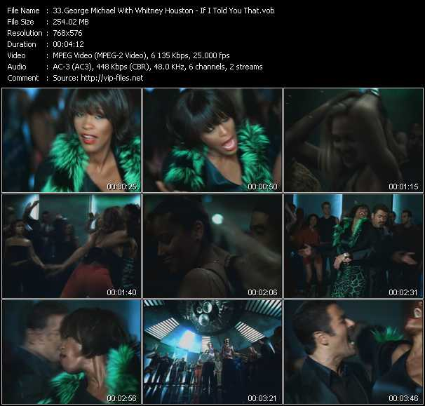 Whitney Houston & George Michael - If I Told You That
