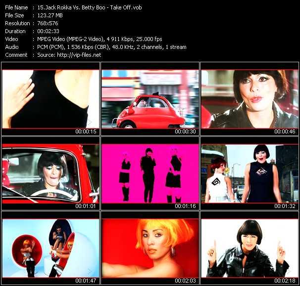 Jack Rokka Vs. Betty Boo video vob