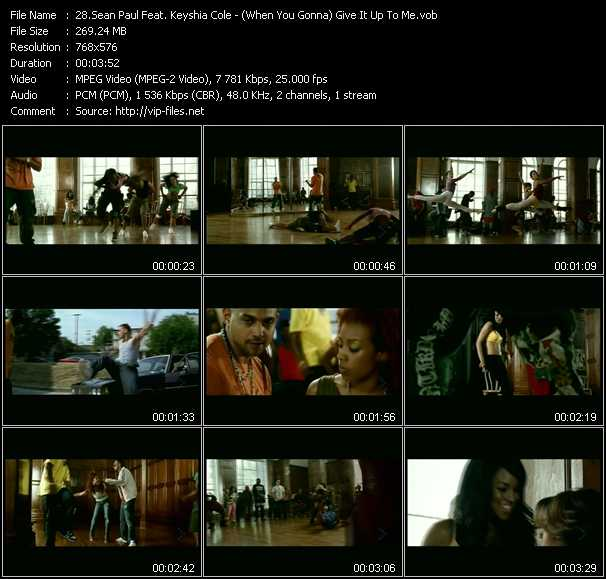 sean paul give it up to me download