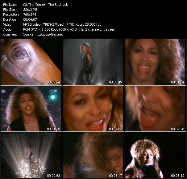 tina turner video download