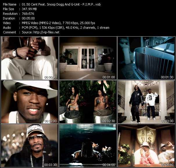 50 Cent Feat. Snoop Dogg And G-Unit clips musicaux vob