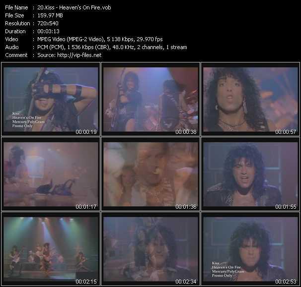 Kiss video vob