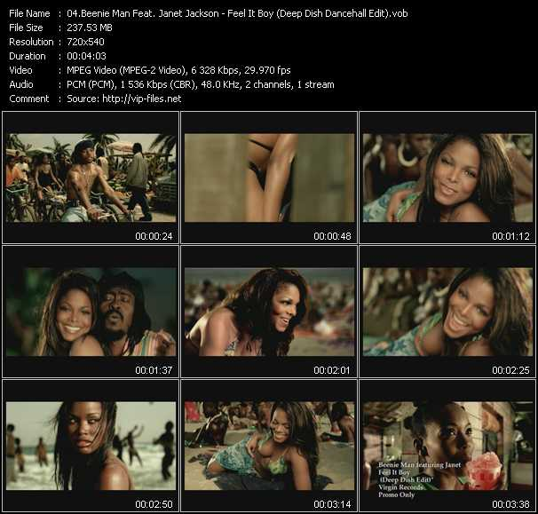 Beenie Man Feat. Janet Jackson video vob