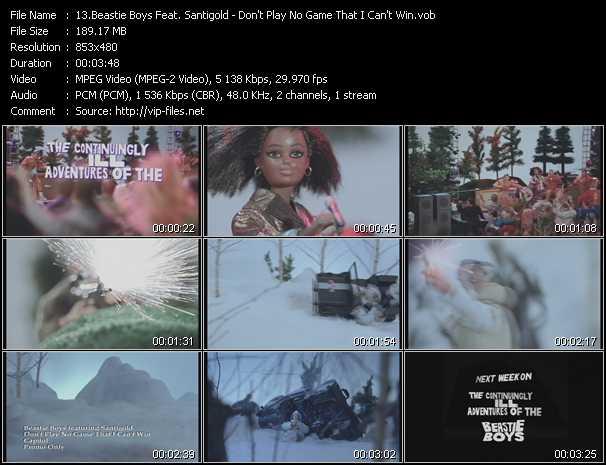 Beastie Boys Feat. Santigold (Santogold) video vob
