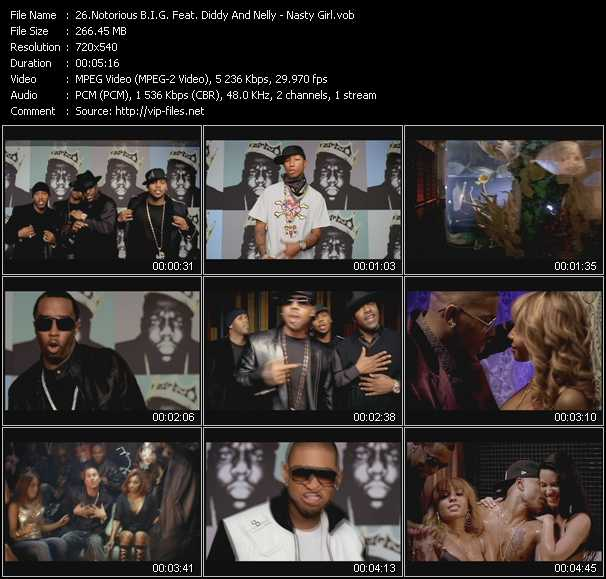 Notorious B.I.G. Feat. P. Diddy (Puff Daddy) And Nelly video vob