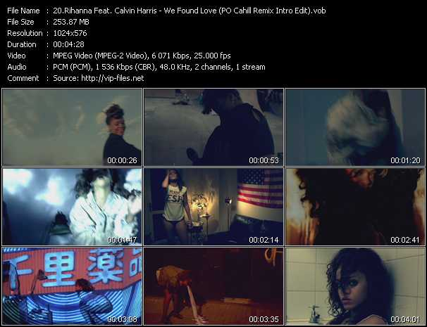 Rihanna Feat. Calvin Harris video vob