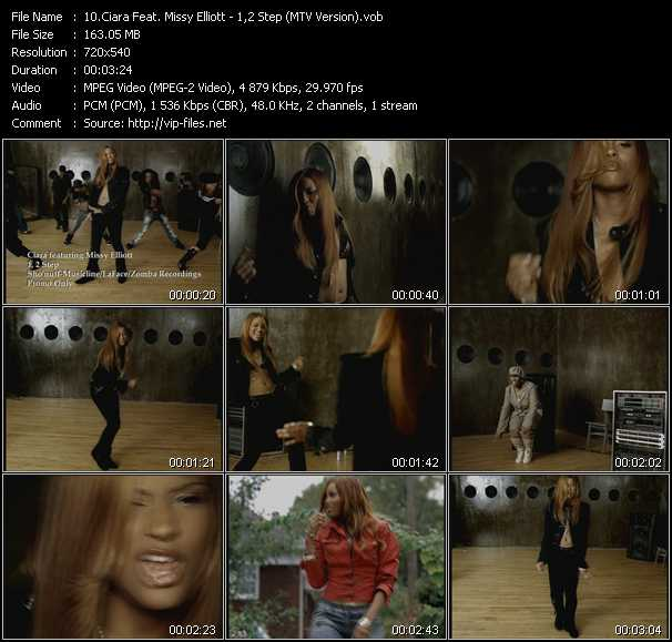 Ciara Feat. Missy Elliott video vob