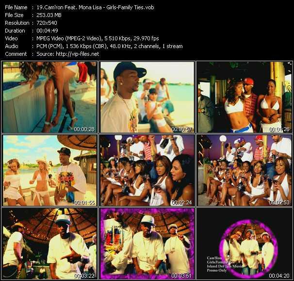 Cam'ron Feat. Mona Lisa video vob