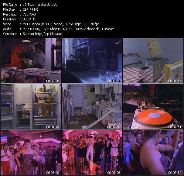 Screenshot of Music Video Stop - Wake Up