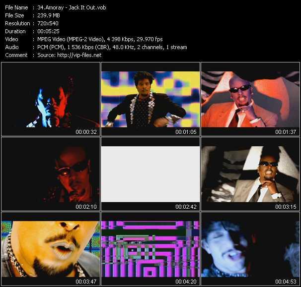 Amoray clips musicaux vob