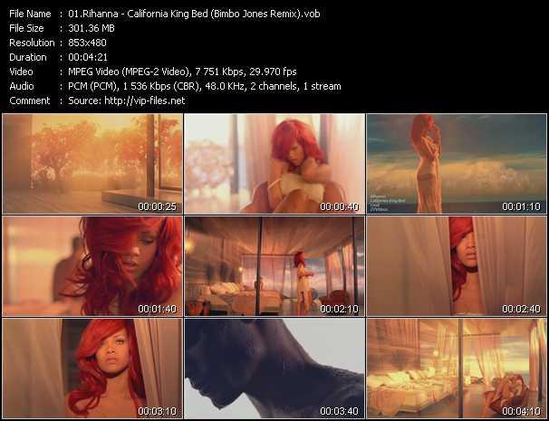 Rihanna clips musicaux vob