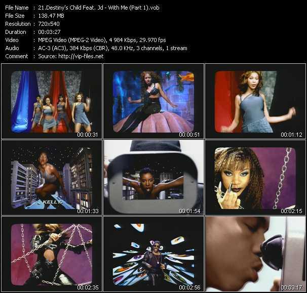 Destiny's Child Feat. Jd video vob