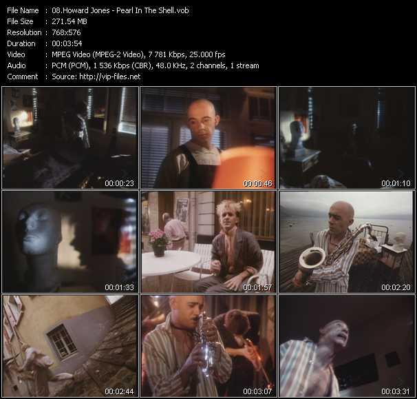 Howard Jones video vob