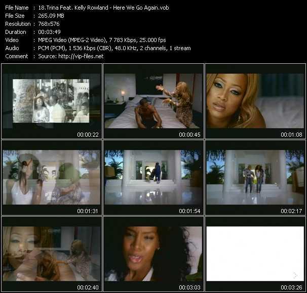 Trina Feat. Kelly Rowland video vob