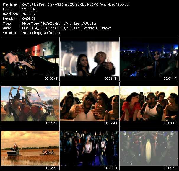 Flo Rida Feat. Sia video vob
