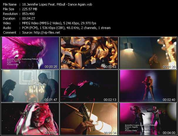 Jennifer Lopez Feat. Pitbull video vob