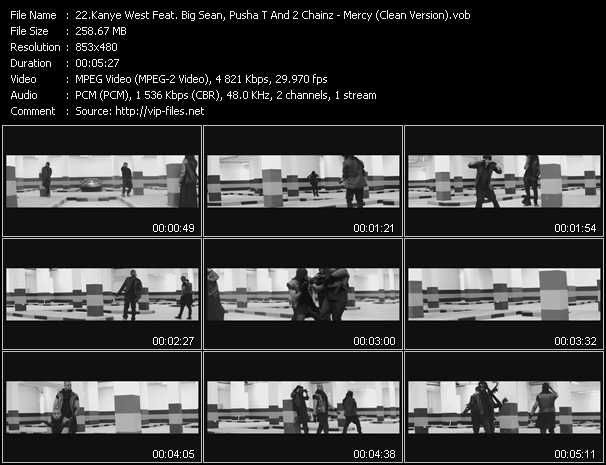 Kanye West Feat. Big Sean, Pusha T And 2 Chainz video vob